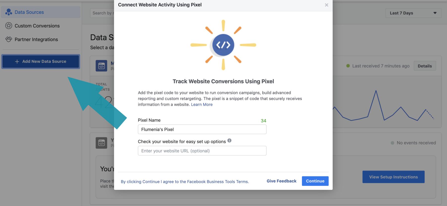 Facebook-pikseli asentaminen
